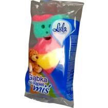 Lula gąbka do kąpieli miś 1 szt