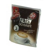 Anna Zaradna filtry do kawy 50 szt rozmiar 2