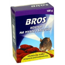 Bros kostka na myszy i szczury 100 g
