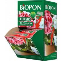 Biopon eliksir do pelargonii i innych roślin balkonowych 35 ml 36 szt