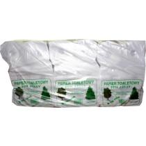 Papier toaletowy szary duża rolka 36 sztuk
