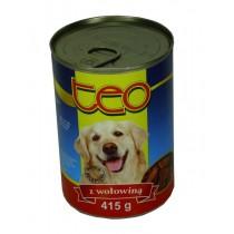 Teo karma dla psa bogactwo mięsa z wołowiną 415 g