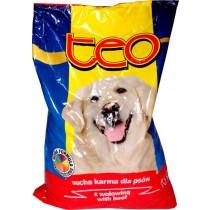Teo karma sucha dla psa z wołowiną 9 kg