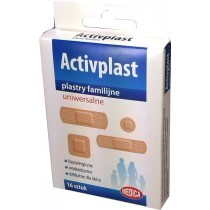 Activplast plastry uniwersalne rózne rodzaje 16 szt