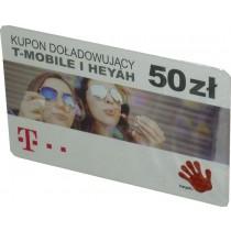 Karta T-Mobile/Heyah 50 zł