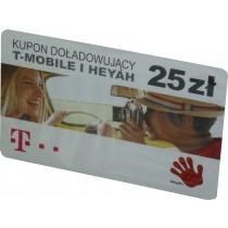 Karta T-Mobile/Heyah 25 zł