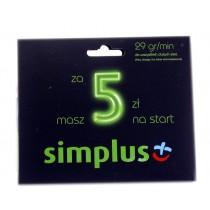 Simplus Mini zestaw startowy 5 zł.