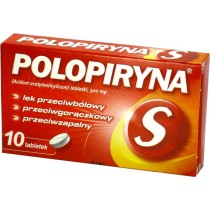 Polopiryna S 10 tabletek