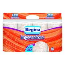 Regina papier toaletowy Impressions a'8 pomarańczowy