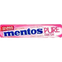 Mentos Pure Fresh Tutti Frutti Guma do żucia bez cukru 15,5 g (8 sztuk)