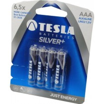 Tesla Silver baterie alkaliczne LR3 AAA  4 szt.