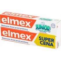 elmex Junior Pasta do zębów z fluorem 6-12 lat 2 x 75 ml