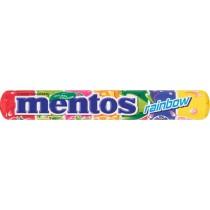 Mentos Rainbow Cukierki do żucia o smaku owocowym 37,5 g