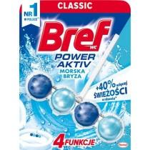 Bref WC Power Aktiv Zawieszka myjąco-zapachowa do muszli WC morska bryza 50 g