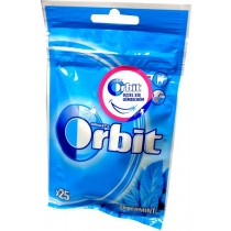 Orbit Peppermint Guma do żucia bez cukru 35 g (25 drażetek)