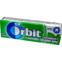 Orbit Spearmint Guma do żucia bez cukru 14 g (10 drażetek)