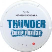 Thunder Deep Freeze Slim woreczki z nikotyną (snus bez tytoniu) intensywność 5 20 szt