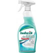 Ludwik mleczko do czyszczenia łazienki spray aktywna piana 750 ml