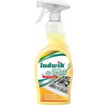 Ludwik mleczko do czyszczenia kuchni spray aktywna piana 750 ml