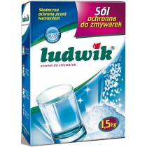 Ludwik sól do zmywarek 1.5 kg