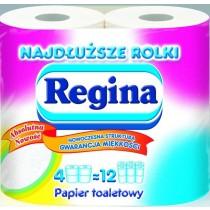 Regina papier toaletowy 1=3 najdłuższe rolki 4 szt.