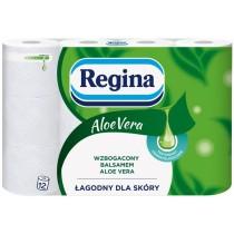 Regina papier toaletowy aloe vera 12 rolek