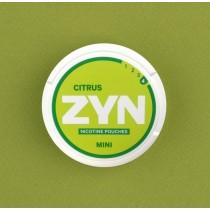 Zyn Citrus woreczki z nikotyną (snus bez tytoniu) mini dry intensywność 4 20 szt