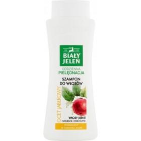 Biały Jeleń Szampon do włosów ocet jabłkowy 300 ml