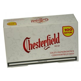 Chesterfield gilzy Red 100 szt.
