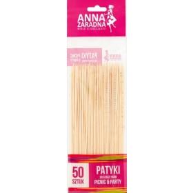 Anna Zaradna Picnic & Party Patyki do szaszłyków 50 sztuk