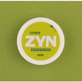Zyn Citrus woreczki z nikotyną (snus bez tytoniu) mini dry intensywność 2 20 szt