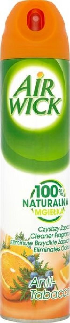 Air Wick 100% Naturalna mgiełka Odświeżacz powietrza Anti-Tabacco 240 ml