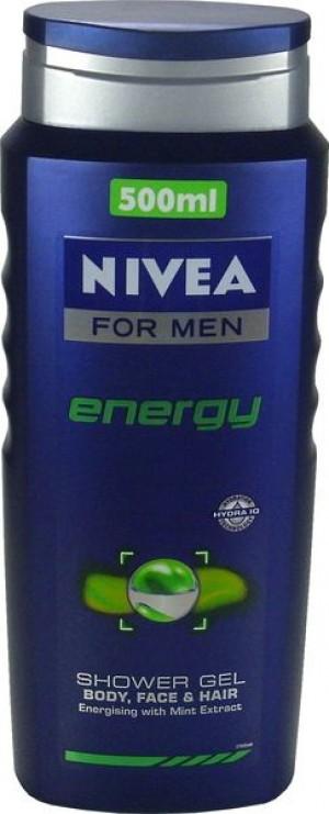 Nivea Energy Men żel pod prysznic 500 ml