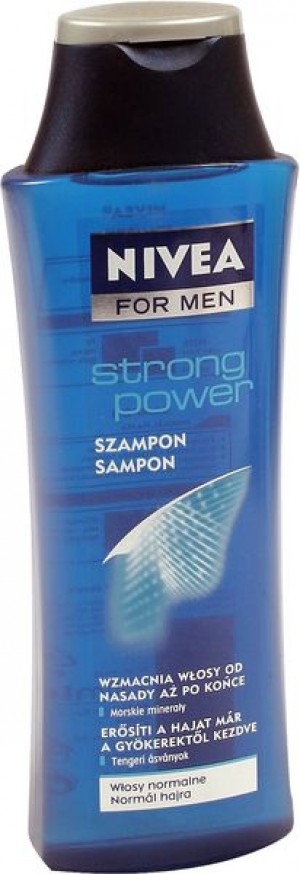 Nivea for men szampon do włosów strong power