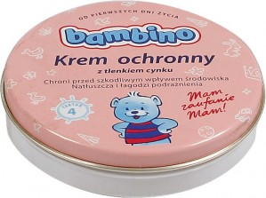 Bambino krem ochronny z tlenkiem cynku 75 ml