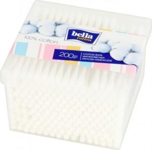 Bella cotton patyczki kosmetyczne 200 szt.