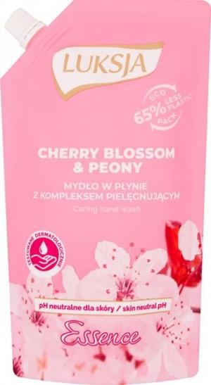 Luksja Essence Cherry Blossom & Peony Mydło w płynie opakowanie uzupełniające 400 ml