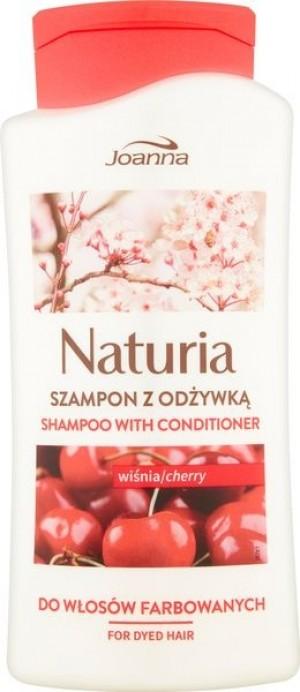 Joanna Naturia szampon do włosów z odżywką Wiśnia 500 ml