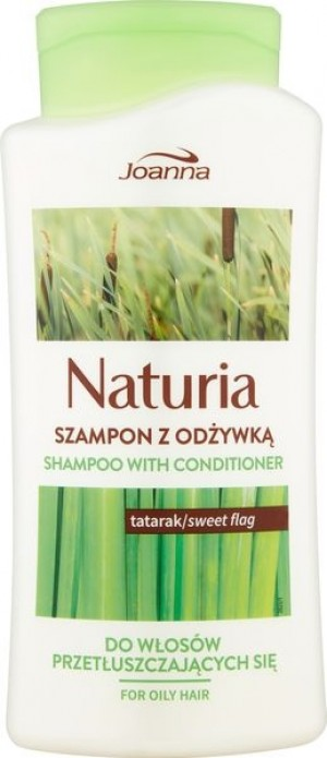 Joanna Naturia szampon do włosów z odżywką Tatarak 500 ml