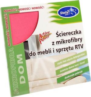 Stella ściereczka mikrofibry do mebli i RTV 30 x 35 cm 1 szt.
