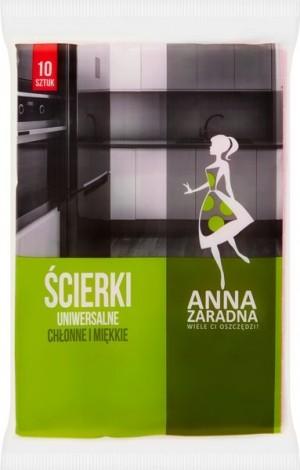 Anna Zaradna ściereczki uniwersalne 10 szt.