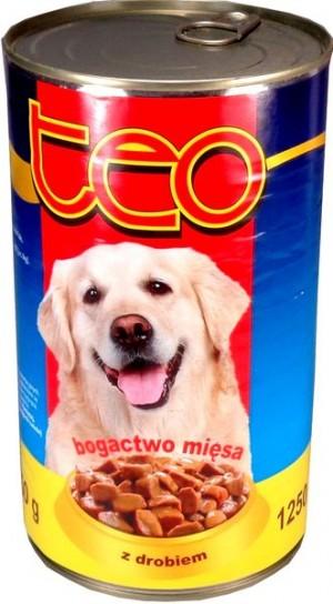 Teo karma dla psa bogactwo mięsa z drobiem 1,25 kg