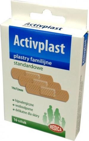 Activplast plastry standardowe 16 szt