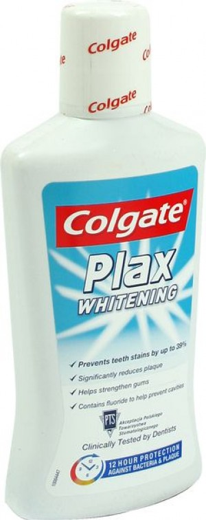 Colgate plax płyn do płukania ust whitening 500 ml