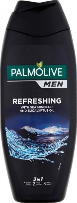 Palmolive Men Refreshing 3w1 Żel pod prysznic 500 ml