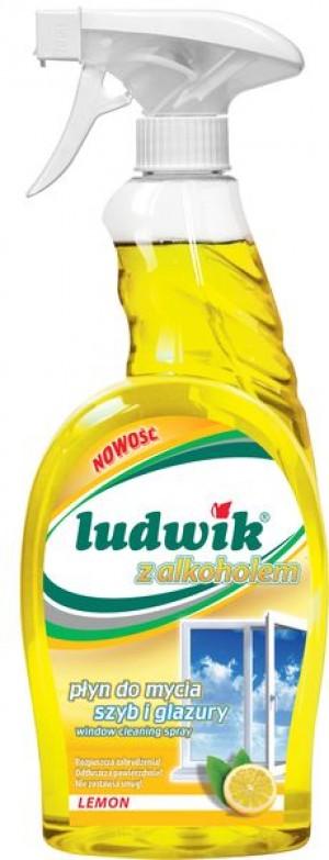 Ludwik płyn do mycia szyb nano-tech lemon 750 ml