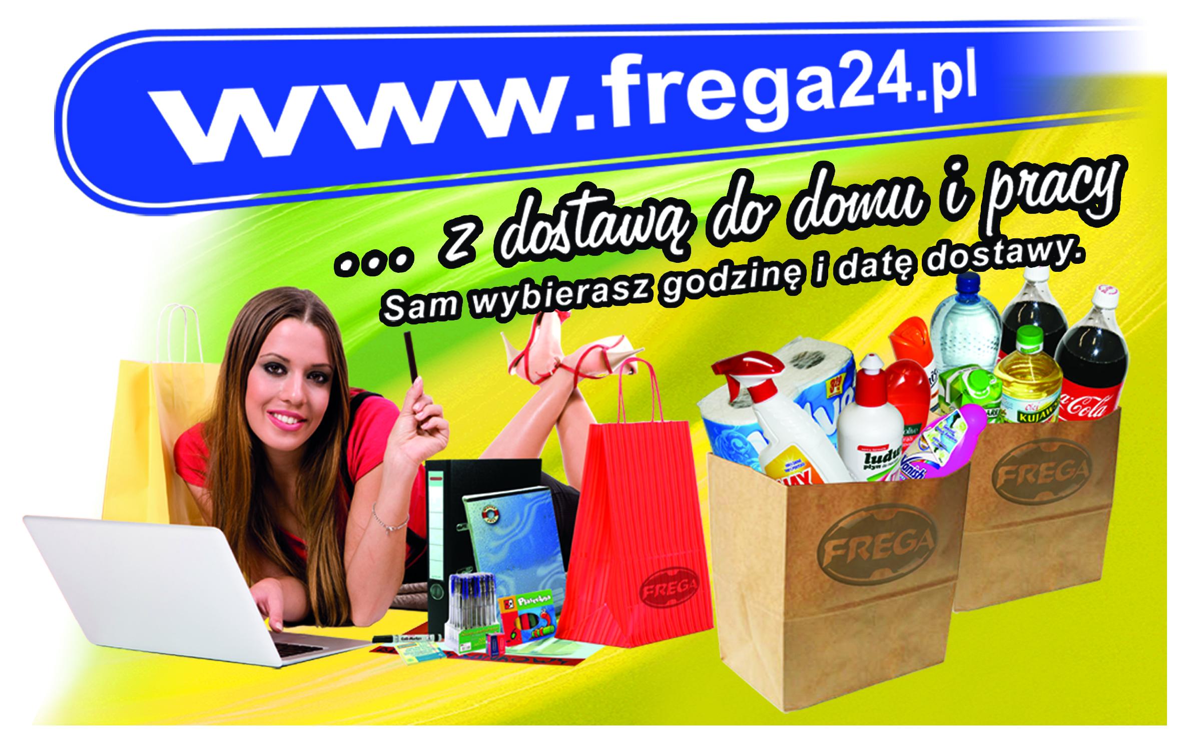 Frega24 - zakupy z dostawą do domu, firmy, instytucji