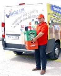 Zamów skrzynkę piwa z dostawą przed meczem